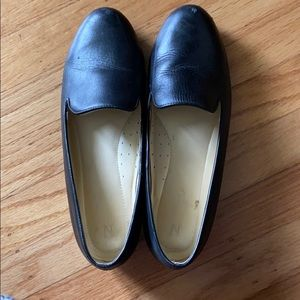 Nisolo black leather smoking shoe size 8